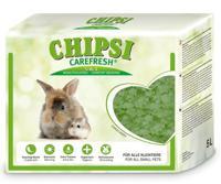 """Целлюлозный наполнитель для мелких домашних животных и птиц CareFresh """"Chipsi Forest Green"""", зеленый, 5 л"""