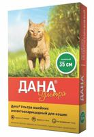 """Ошейник для кошек инсектоакарицидный """"Дана Ультра"""" (зеленый), 35 см"""