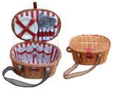 Набор столовых принадлежностей для пикника на 4 персоны, арт. 37610
