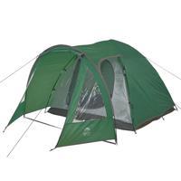 "Палатка четырехместная ""Jungle Camp. Texas 4"", цвет: зеленый"