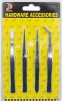 Набор пинцетов для изготовления бижутерии, арт. 24735