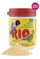 """Витаминно-минеральные гранулы """"RIO"""", для волнистых и средних попугаев, 120 г"""