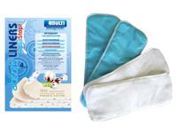 Вкладыши многоразовые Aqua stop, 4 штуки в упаковке