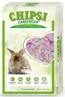 """Целлюлозный наполнитель для мелких домашних животных и птиц CareFresh """"Chipsi Confetti"""", разноцветный, 10 л"""