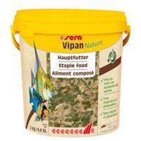 """Корм для рыб основной Sera """"Vipan Nature"""", крупные хлопья, 10000 мл"""