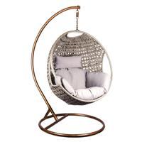 Кресло-качели, подвесное, с подушкой
