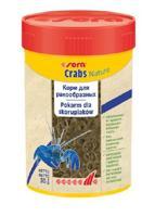 """Корм для раков и крабов """"Crabs Natural"""", колечки, 100 мл"""
