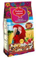 "Корм для крупных попугаев Родные корма ""Стандарт"", 900 г"