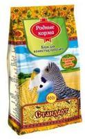 """Корм для волнистых попугаев Родные корма """"Стандарт"""", 900 г"""