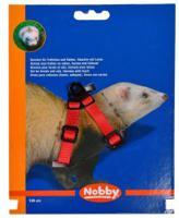 """Шлейка для грызунов """"Nobby"""", красная"""