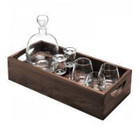 """Набор для ценителей виски """"Islay Whisky"""", с деревянным подносом"""