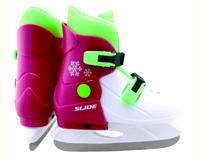 """Коньки ледовые, раздвижные Larsen """"Slide Pink"""", размер S (29-32)"""