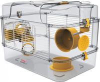 """Клетка для грызунов Zolux """"Rody 3 Solo"""", ярко-жёлтая, 41х27х28 см"""