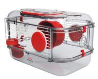 """Клетка для грызунов Zolux """"Rody 3 Mini"""", рубиново-красная, 33х21х18 см"""