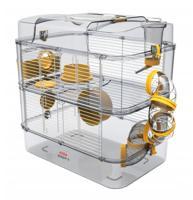 """Клетка для грызунов Zolux """"Rody 3 Duo"""", ярко-жёлтая, 41х27х40,5 см"""