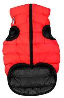 """Куртка двухсторонняя для собак """"AiryVest"""", унисекс (цвет: красно-черный), размер S 35"""