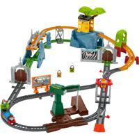 """Набор игровой Thomas & Friends """"Трек-мастер Парк с животными. Приключения обезьянок"""""""