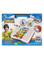 """Конструкторский набор """"Magic Plate puzzle"""", 144 детали"""
