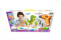 "Развивающий конструктор мозаика ""Creative Pоrtable Box Animals"", 198 деталей"