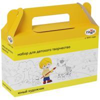 """Комплект наборов для детского творчества """"Юный художник"""", 7 предметов (4 набора в комплекте) (количество товаров в комплекте: 4)"""