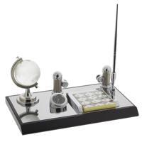 Настольный набор (часы, глобус, ручка, визитница, блокнот)