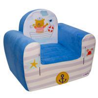 """Игровое кресло """"Экшен. Мореплаватель"""" (цвет: лазурь)"""
