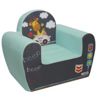 """Игровое кресло """"Экшен. Путешественник"""" (цвет: лазурь)"""