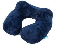 """Подушка для путешествий """"Темно-синяя"""", 37x30x1 см"""