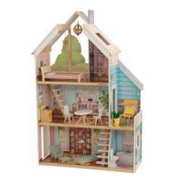 """Кукольный дом """"Зоя"""" с мебелью, интерактивный"""