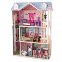 """Кукольный дом """"Мечта"""" с мебелью, 14 элементов, интерактивный"""
