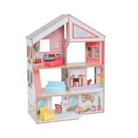 """Кукольный дом """"Чарли"""" с мебелью, 10 элементов"""