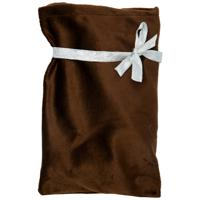 """Подарочные мешочки """"Сувенир"""", 17х25 см, 3 штуки, цвет коричневый"""