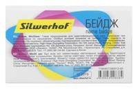 """Бейдж """"Silwerhof"""", горизонтальный, булавка, 90х56 мм, арт. 380012-00"""