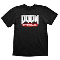 "Футболка мужская ""Doom Eternal Logo"", размер: XL, цвет: черный"