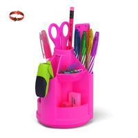 """Набор настольный на вращающейся подставке """"Mini Desk. Neon Solid"""", розовый"""