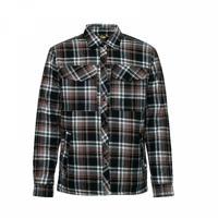 """Рубашка утепленная """"Innova"""", цвет черный, размер 4XL"""