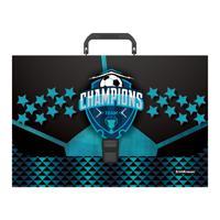 """Портфель пластиковый """"Champions"""", FC (в пакете)"""