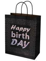 """Пакет из крафт-бумаги """"HAPPY DAY"""", 26x32,4x12,7 см"""