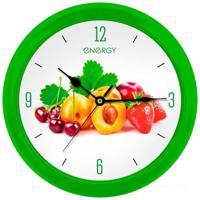 Часы настенные Energy EC-112, фрукты, 1хАА