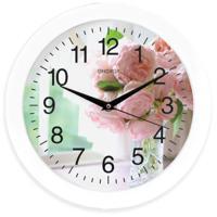 Часы настенные Energy EC-96, цветы, 1хАА