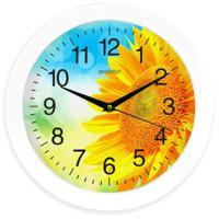Часы настенные Energy EC-97, подсолнух, 1хАА
