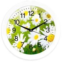 Часы настенные Energy EC-98, ромашки, 1хАА