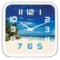 Часы настенные Energy EC-99, пляж, 1хАА