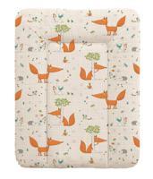"""Пеленальный матрасик на комод """"Ceba Baby"""", 70х50 см, цвет: Fox ecru"""
