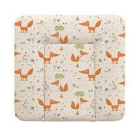 Пеленальный матрасик на комод Ceba Baby, 70х75 см, цвет: Fox ecru