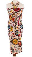 """Парео с мешочком """"Восточные цветы"""", цвет: бежевый, 120х180 см"""