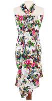 """Парео с мешочком """"Яркие цветы"""", 120х180 см"""
