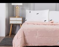 "Одеяло ""Шарлиз "", цвет: пудра, 160х220 см"