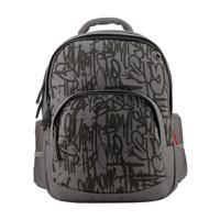 """Рюкзак с эргономичной спинкой """"Граффити"""", цвет серый"""