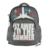 """Рюкзак с эргономичной спинкой """"Fly away color"""", цвет серый"""
